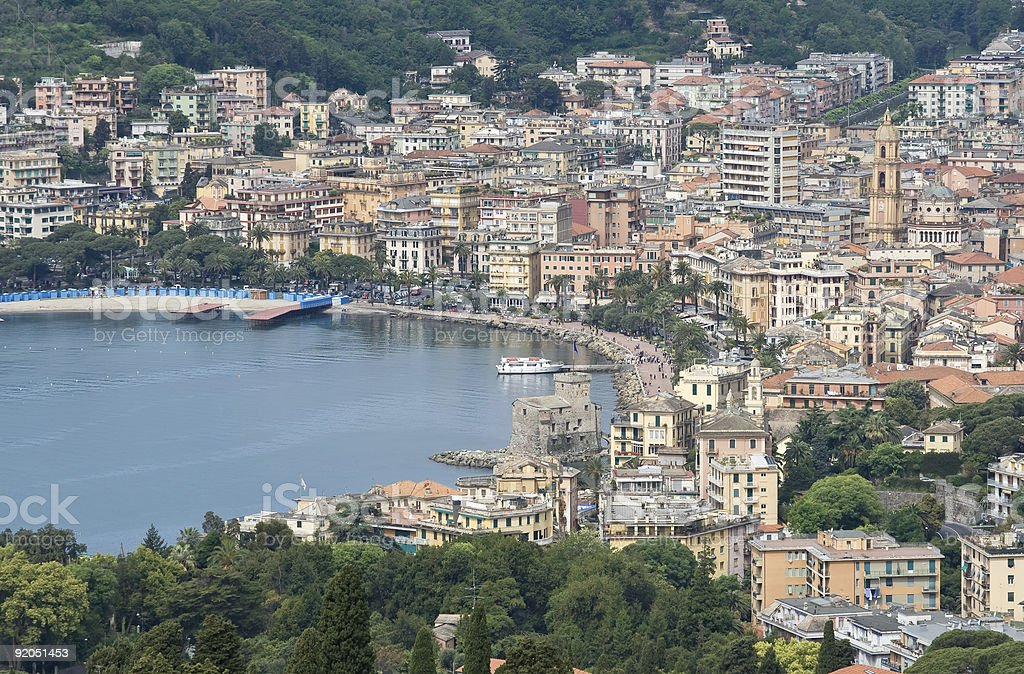Rapallo stock photo