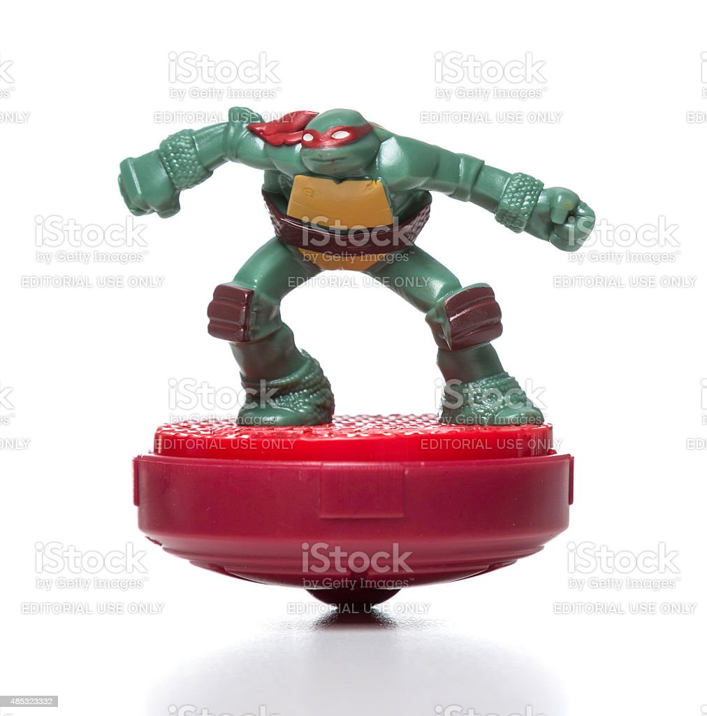 Raphael McDonalds happy meal toy stock photo