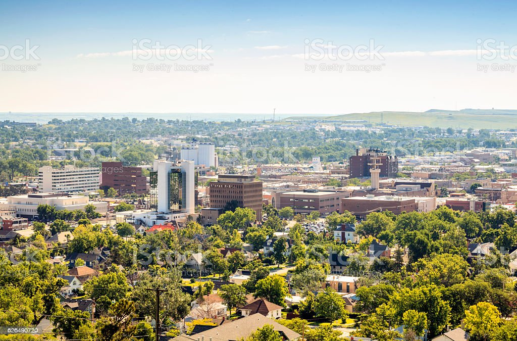 Rapid City, South Dakota, USA stock photo