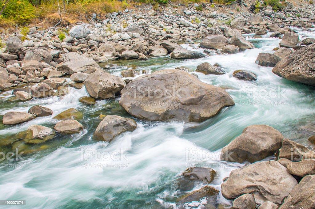 Rapid flow stock photo