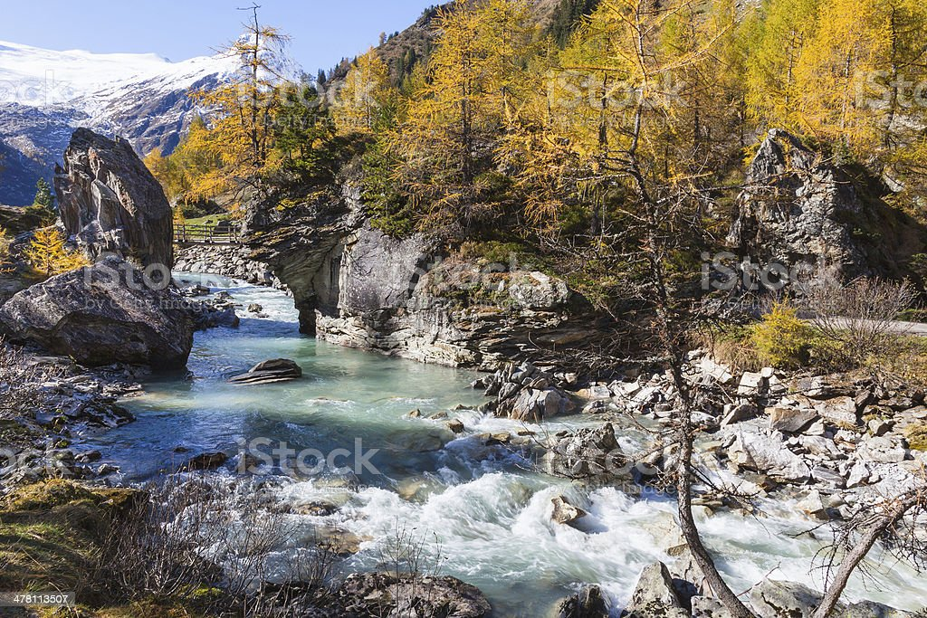 Rapid River royalty-free stock photo
