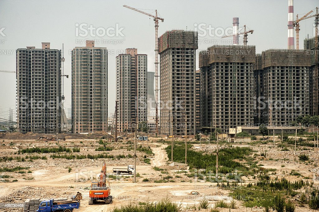 Rapidly evolving China stock photo