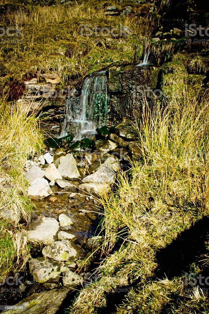 Rapids in Cumbria stock photo