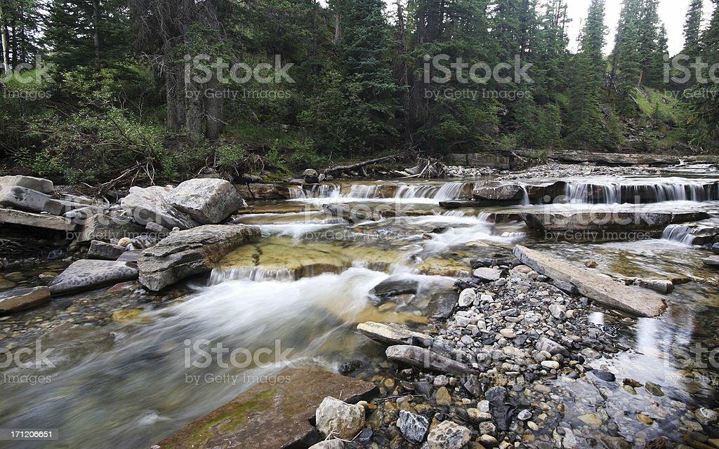 Rapids royalty-free stock photo