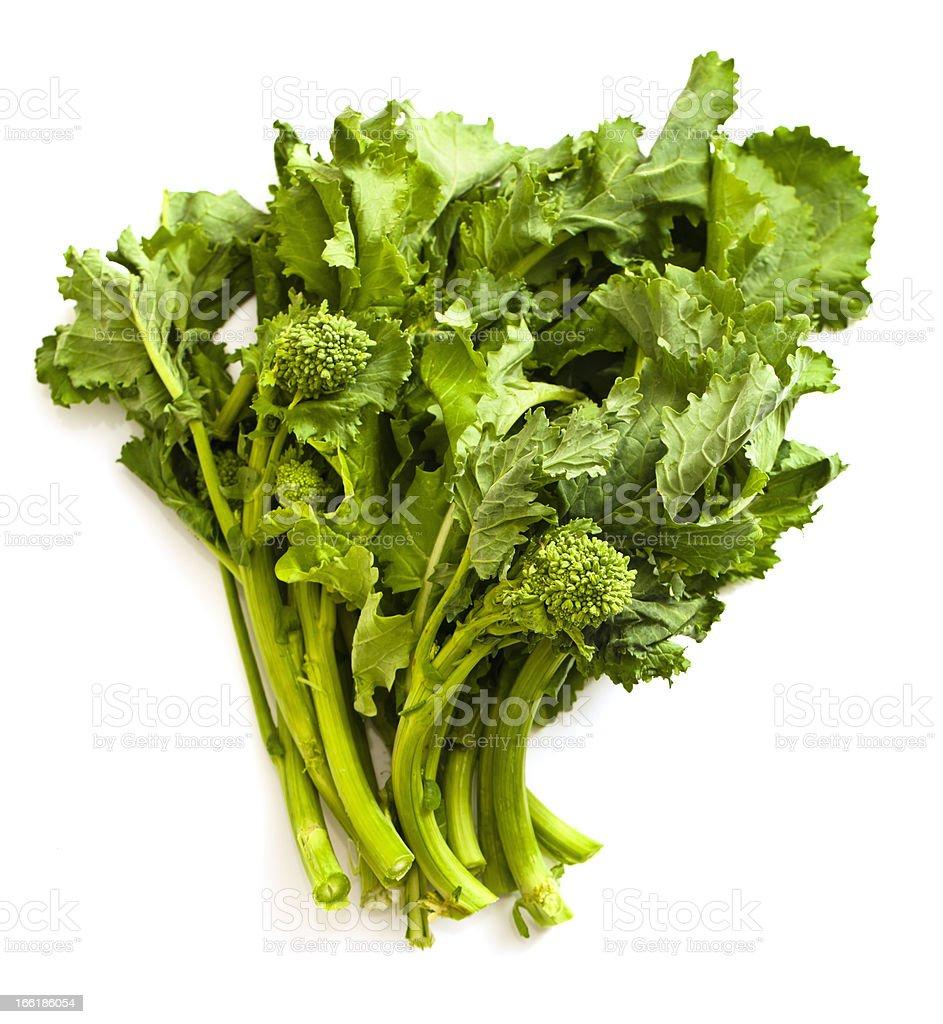 Rapini or Broccoli Raab stock photo