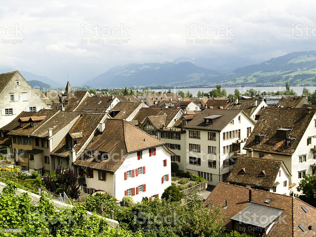 Rapperswil royalty-free stock photo