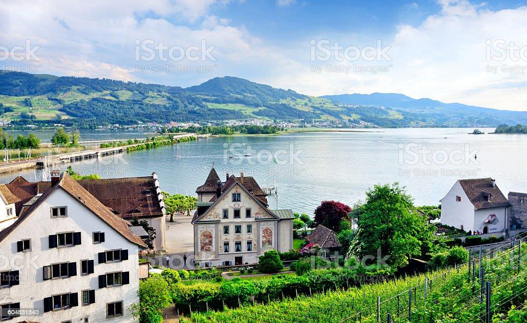Rapperswil, Switzerland stock photo