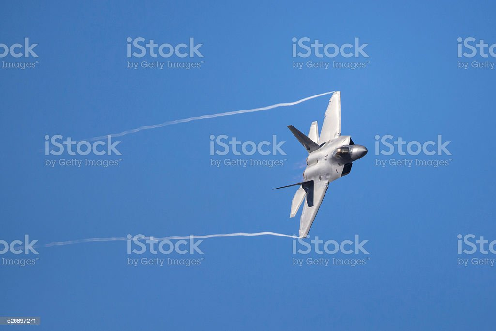 F-22 Raptor Advanced Tactical Fighter aircraft stock photo