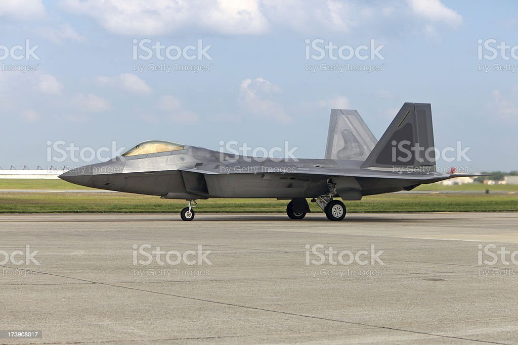 F/A-22 Raptor royalty-free stock photo