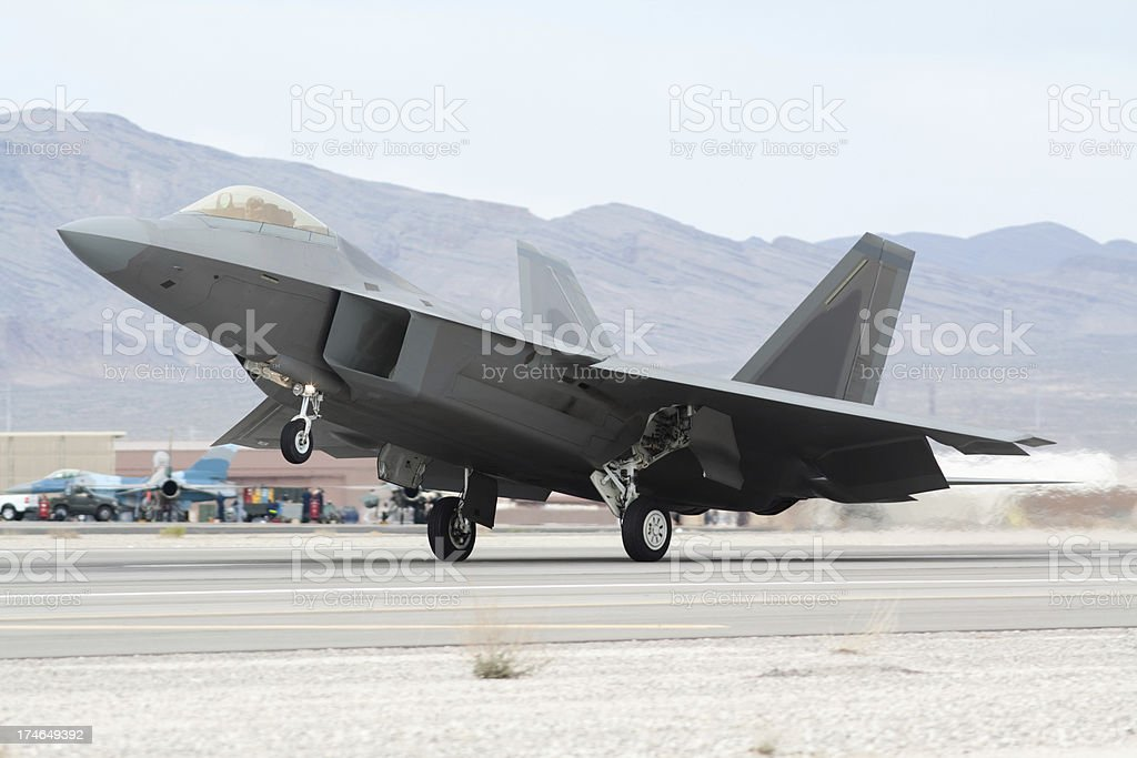 F-22 Raptor royalty-free stock photo
