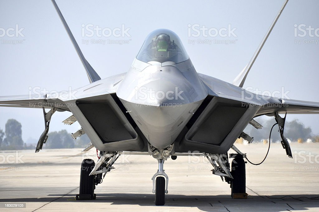 F22 Raptor royalty-free stock photo