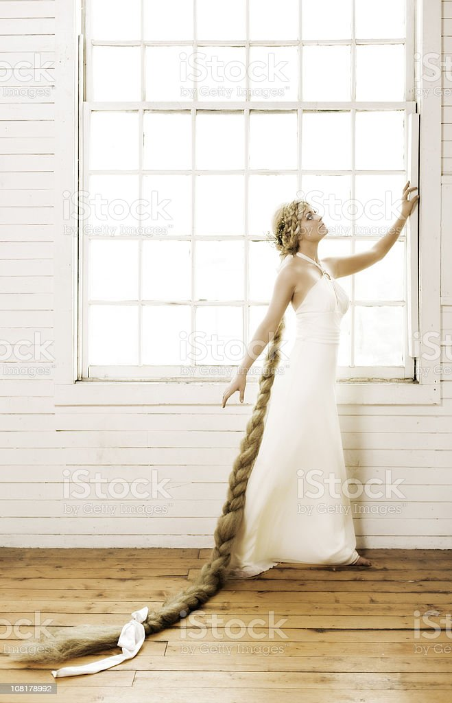 Rapunzel stock photo