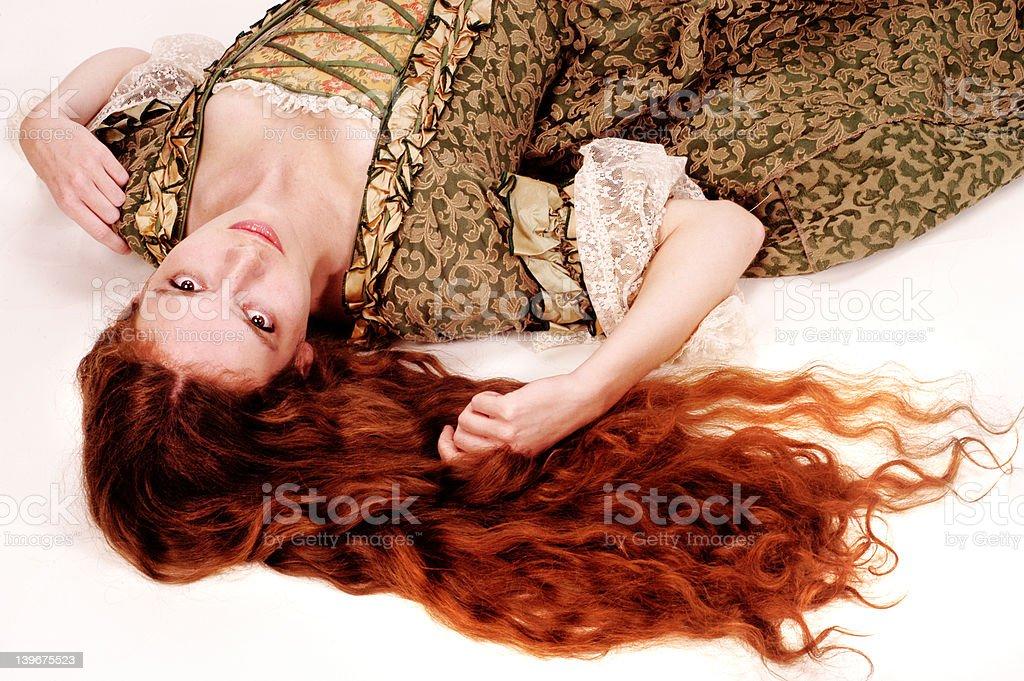 Rapunzel royalty-free stock photo