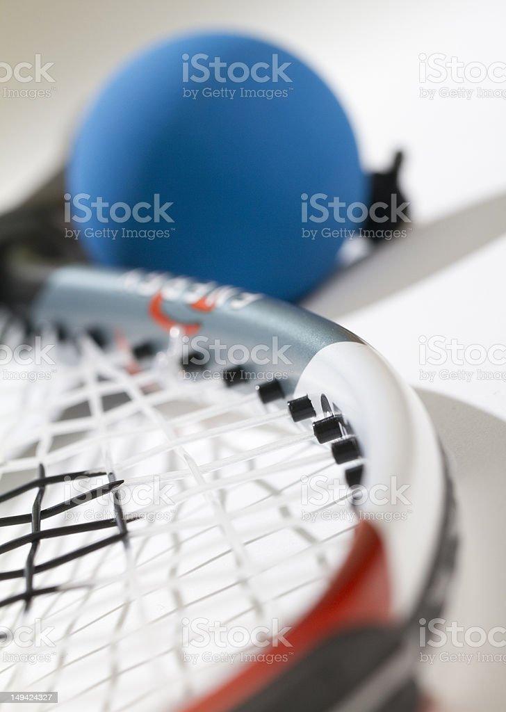 Raquetball Close Up stock photo