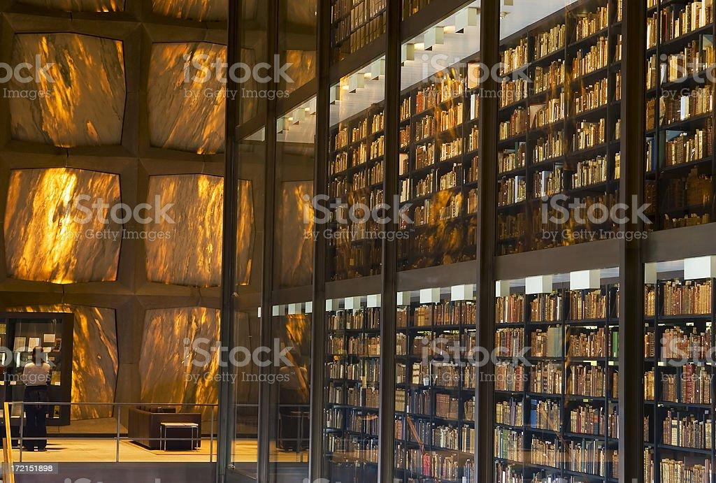 Rare books on display royalty-free stock photo