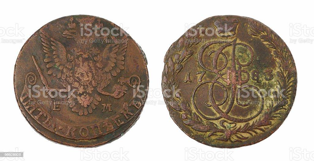 Rare Coin stock photo