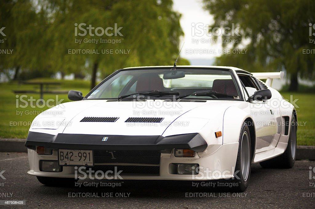 Rare Italian De Tomaso Pantera super car stock photo
