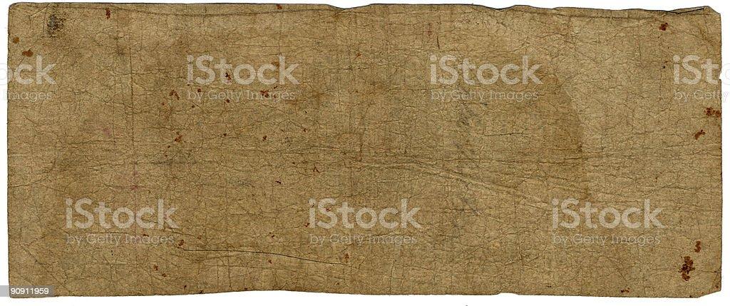 rare paper royalty-free stock photo