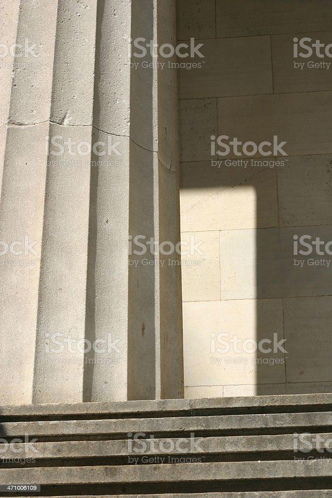 Rare ray in Wall Street royalty-free stock photo