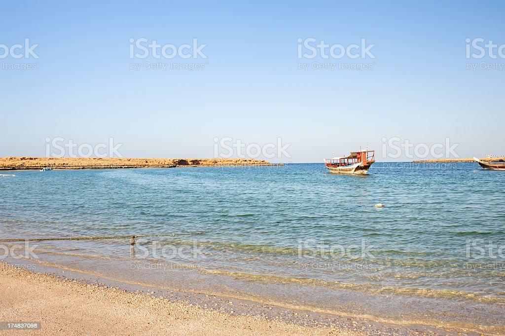 Ras al Hadd royalty-free stock photo