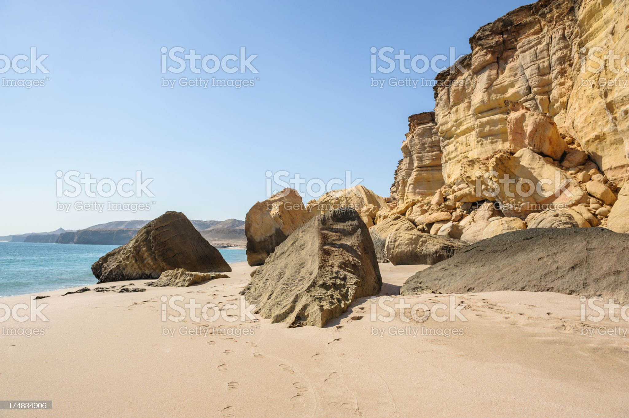 Ras al-Jinz royalty-free stock photo