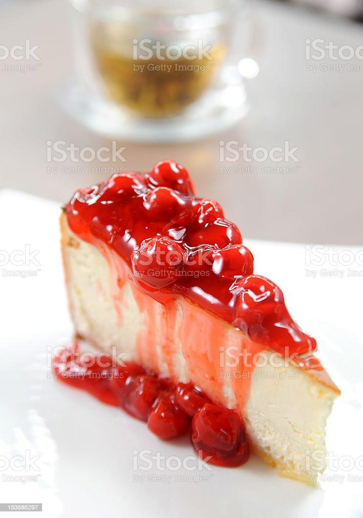 Raspberry cake royalty-free stock photo