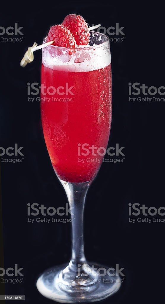 raspberry martini royalty-free stock photo