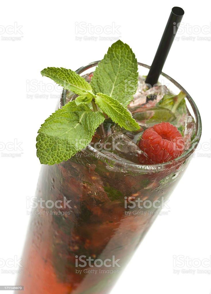 Raspberry Mojito stock photo