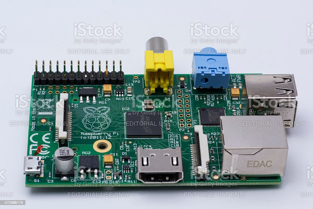 Raspberry Pi UK stock photo