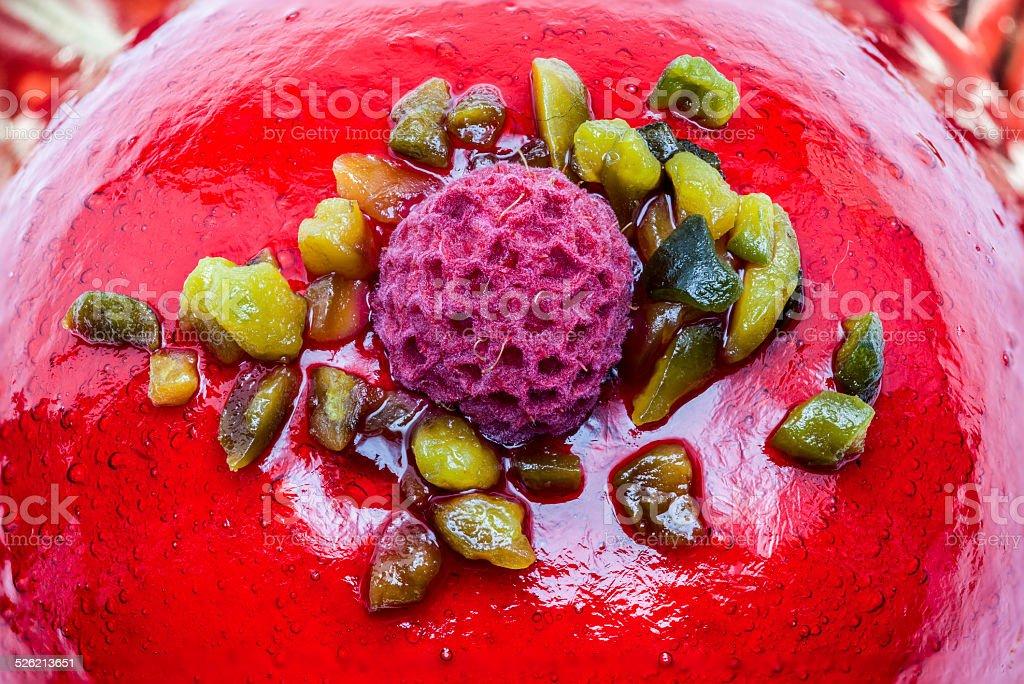 raspberry pie stock photo