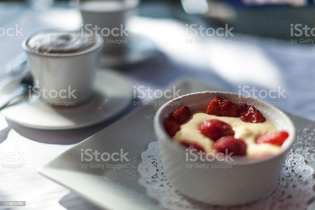 Raspberry sabayon royalty-free stock photo
