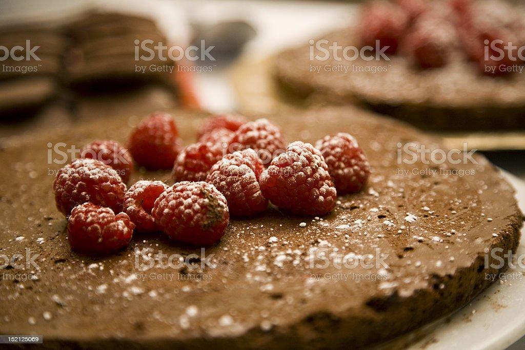 Raspberry Shortcake stock photo