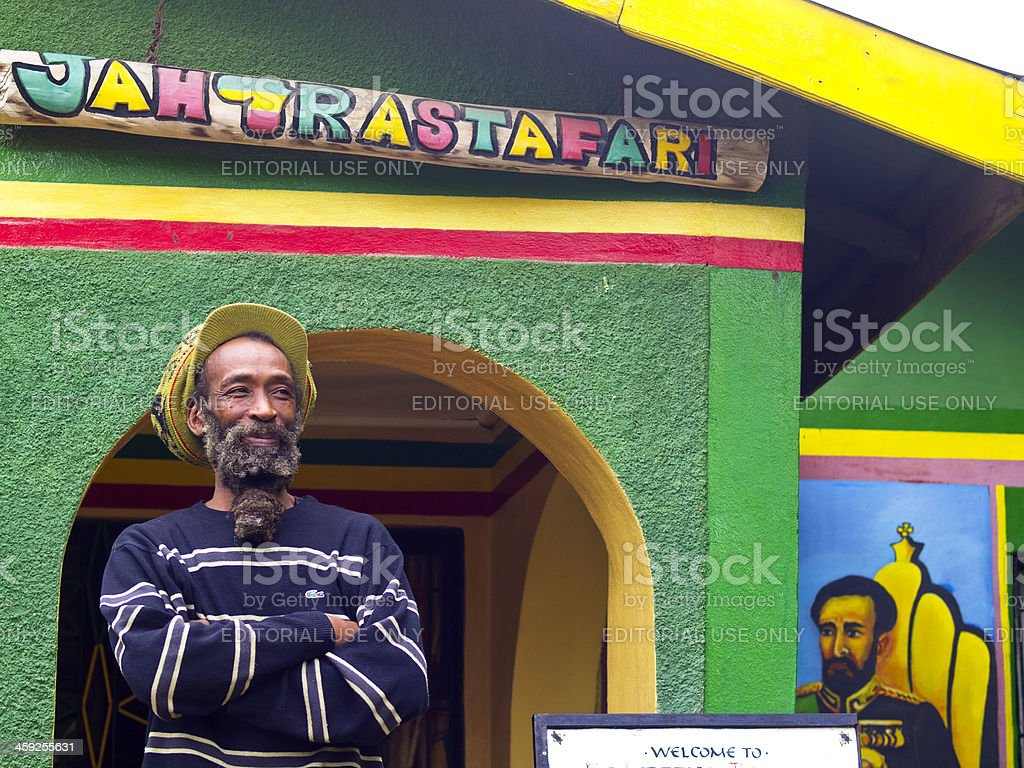 Rastafari stock photo