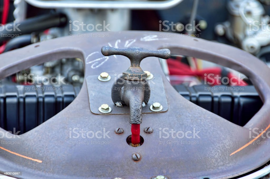 Rat auto radiator cap stock photo