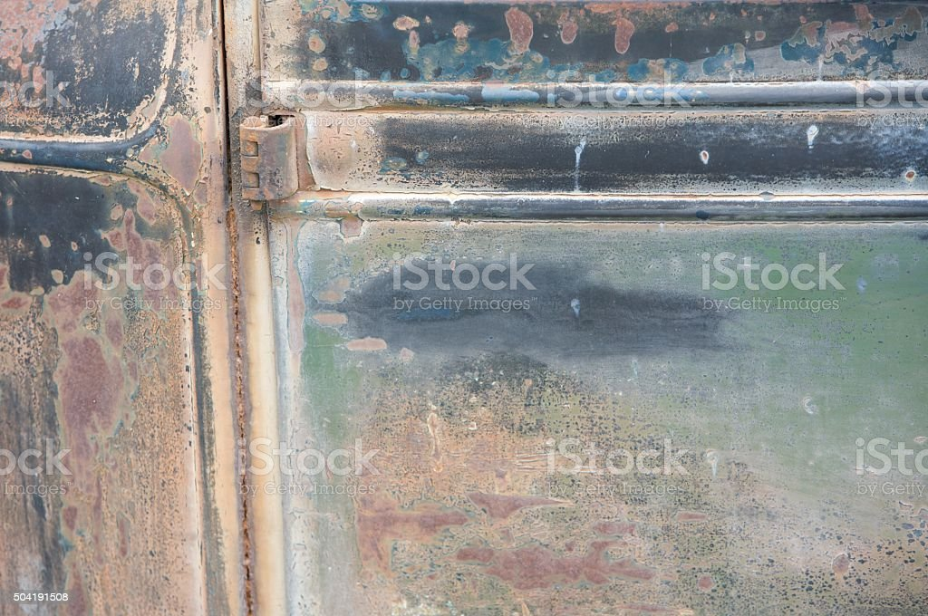 Rat Rod Patina stock photo