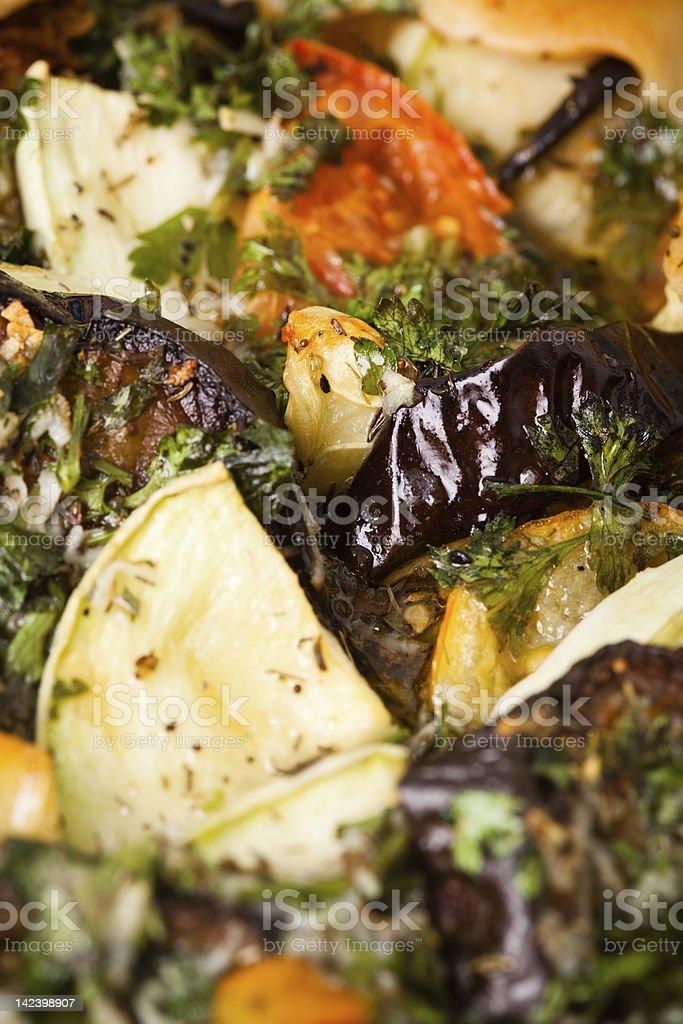 Ratatouille closeup royalty-free stock photo