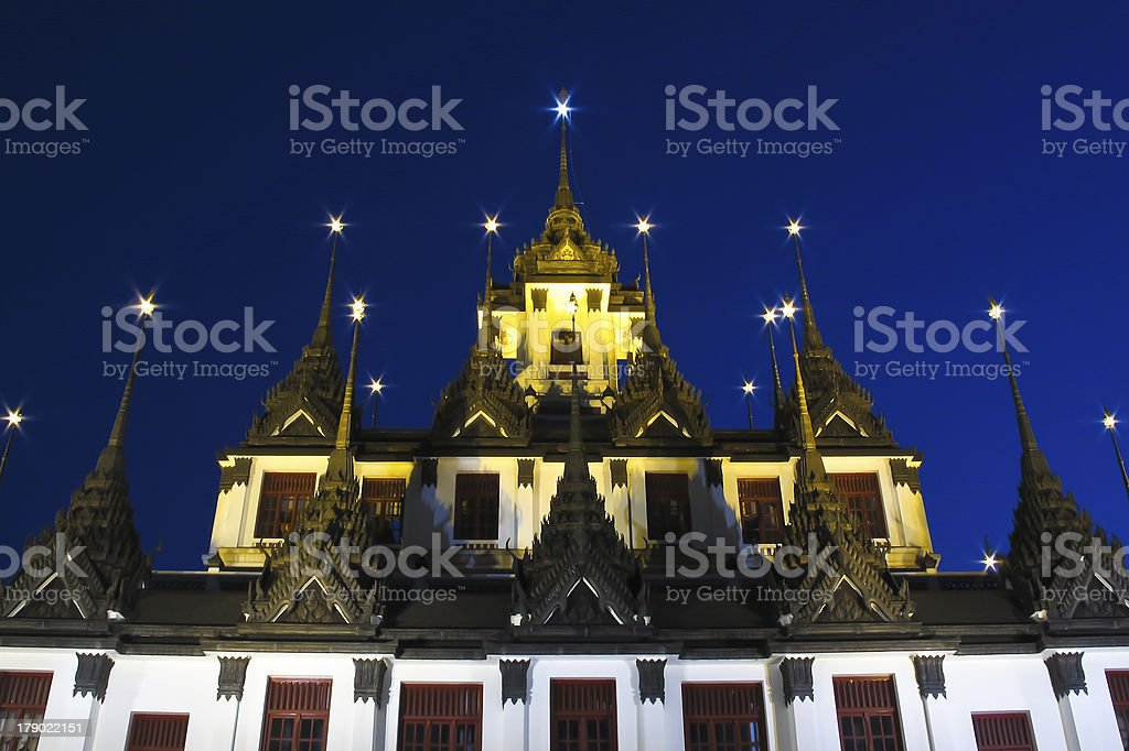 Ratchanaddha temple, Bangkok, Thailand royalty-free stock photo
