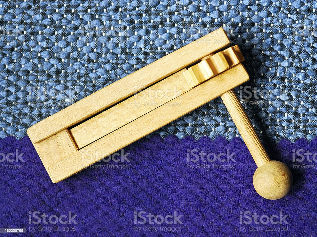 ratchet for Easter stock photo