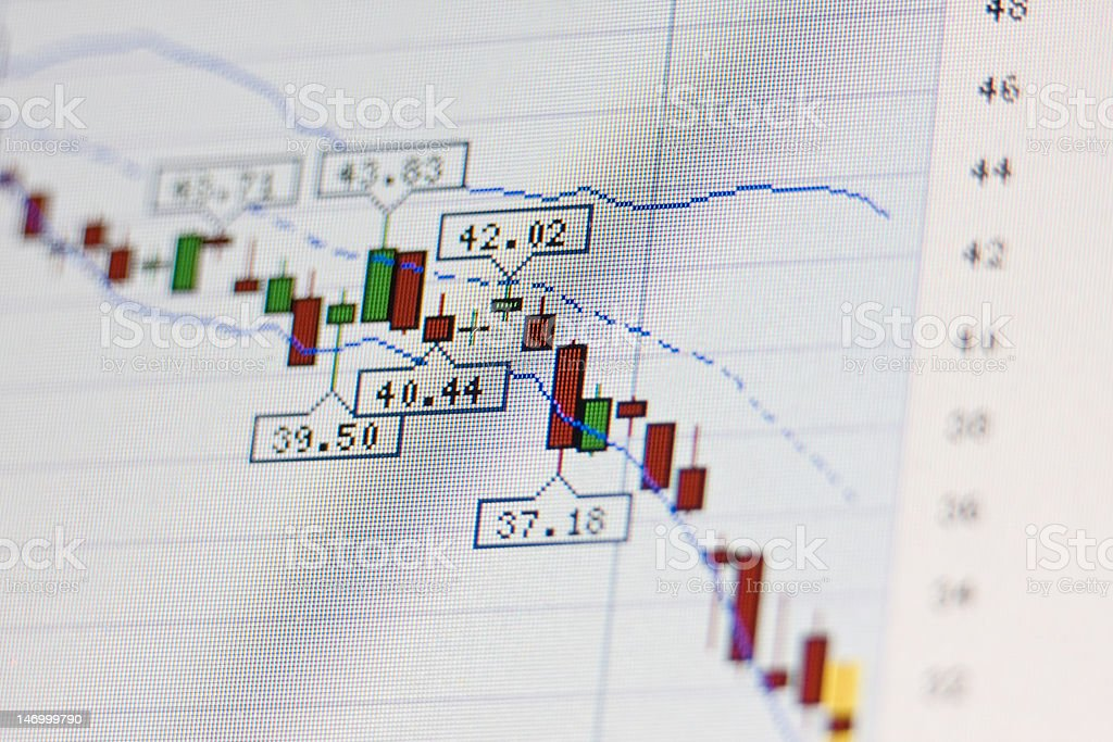 Rates are down royalty-free stock photo