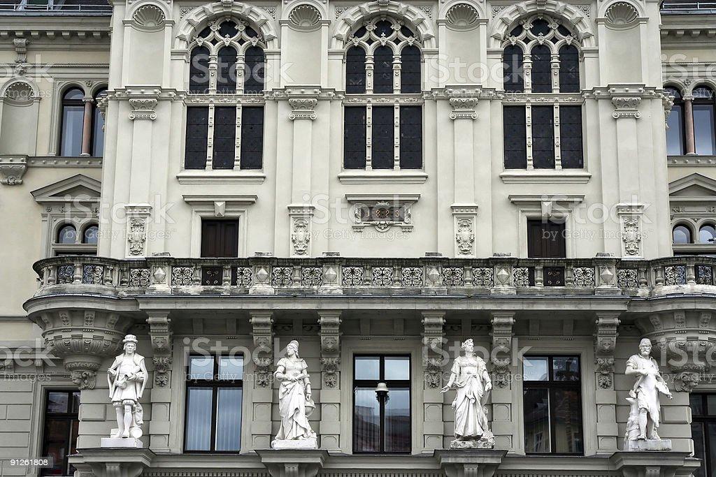 Rathaus (Town Hall) in Graz, Austria royalty-free stock photo