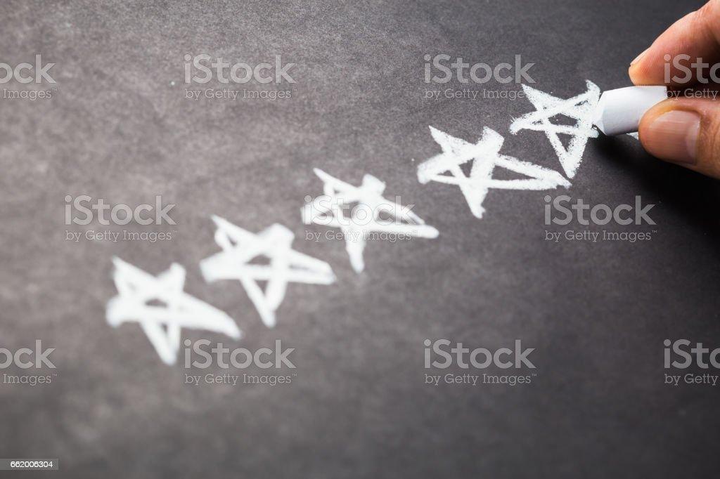 Rating stock photo