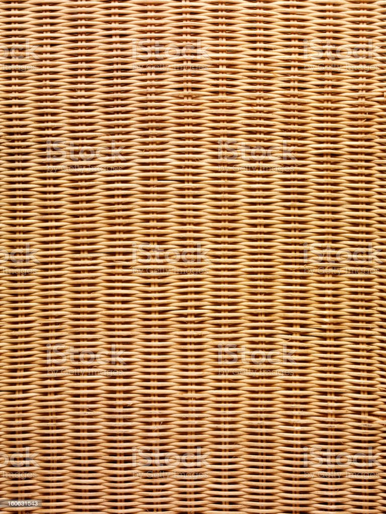 Rattan Basket Weave. royalty-free stock photo