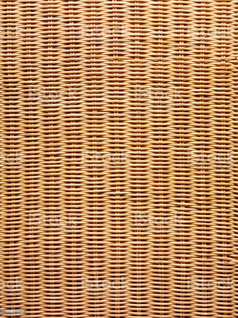 Rattan Basket Weave. stock photo