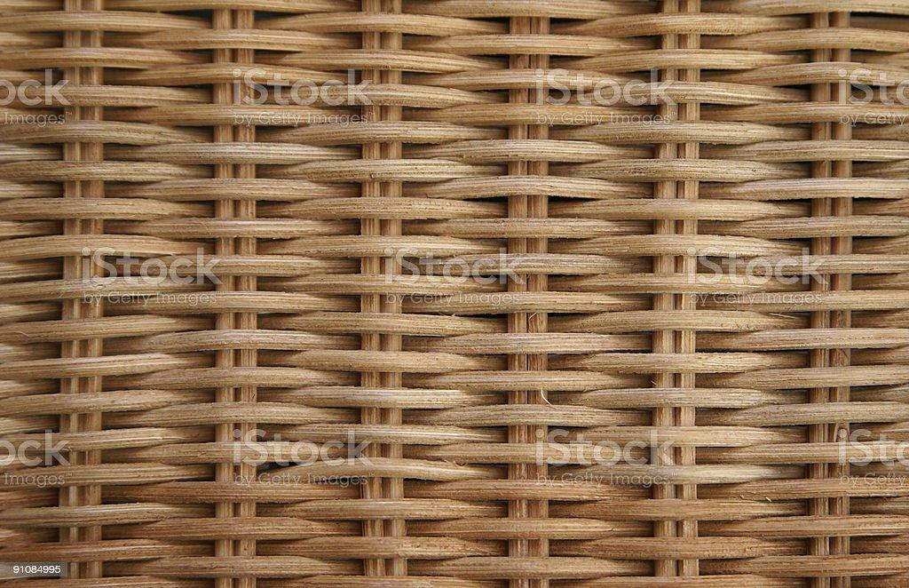 Rattan pattern / texture stock photo