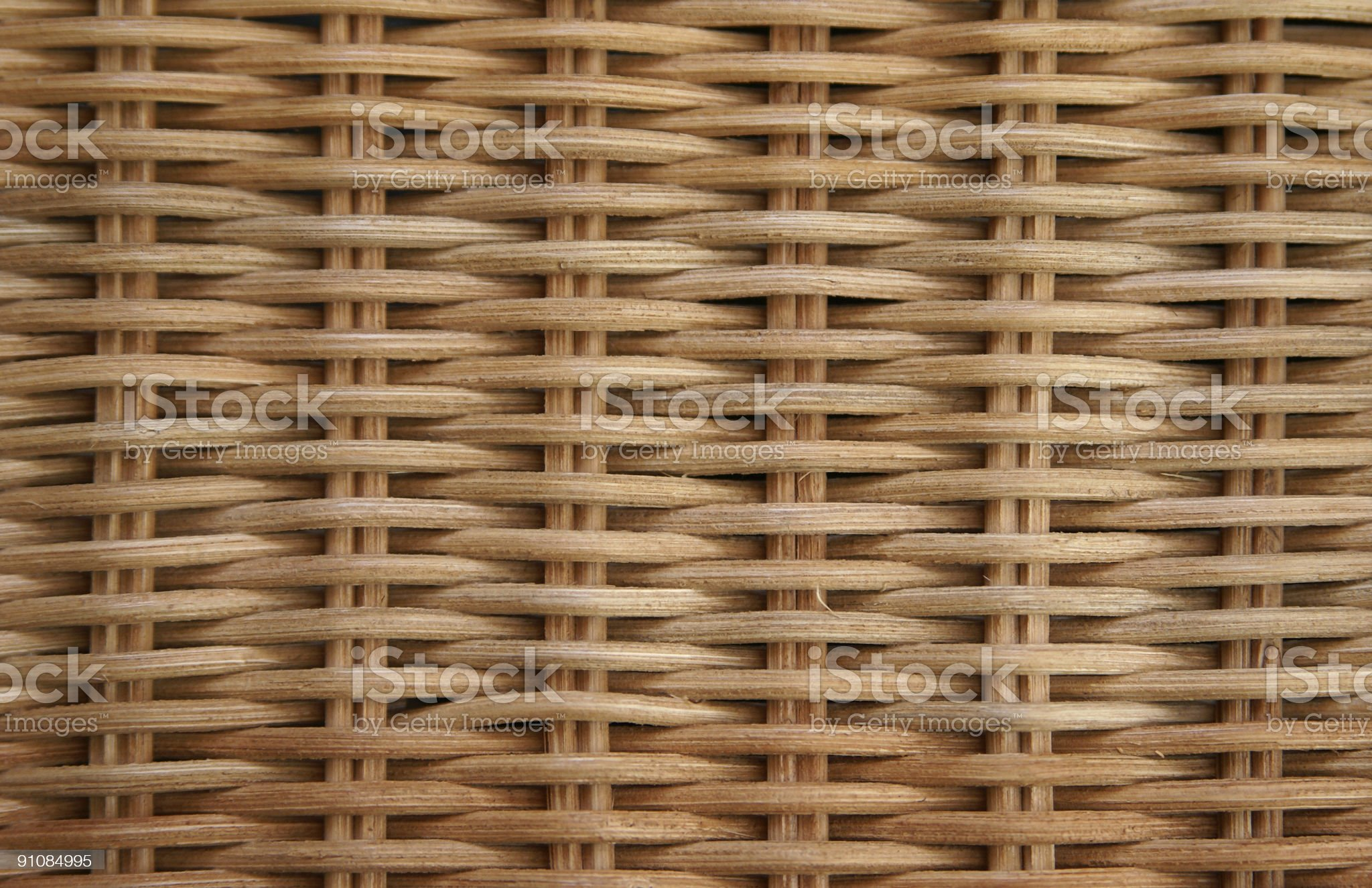 Rattan pattern / texture royalty-free stock photo