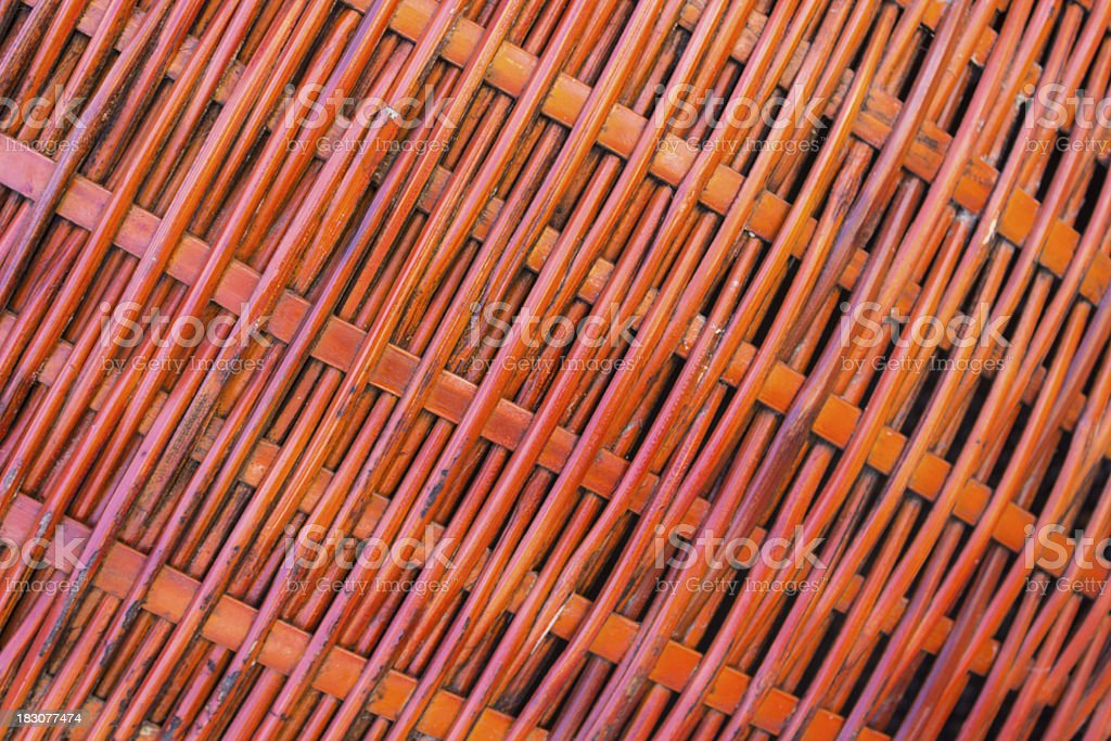 Rattan Weave royalty-free stock photo