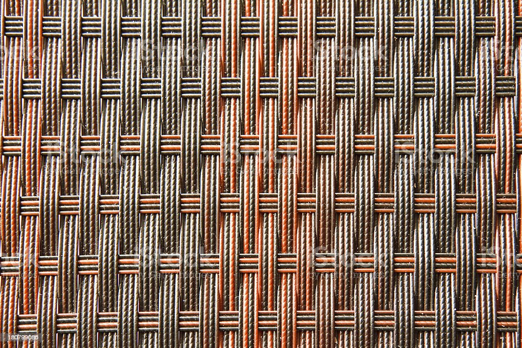 Rattan Weave Seamless Pattern background royalty-free stock photo