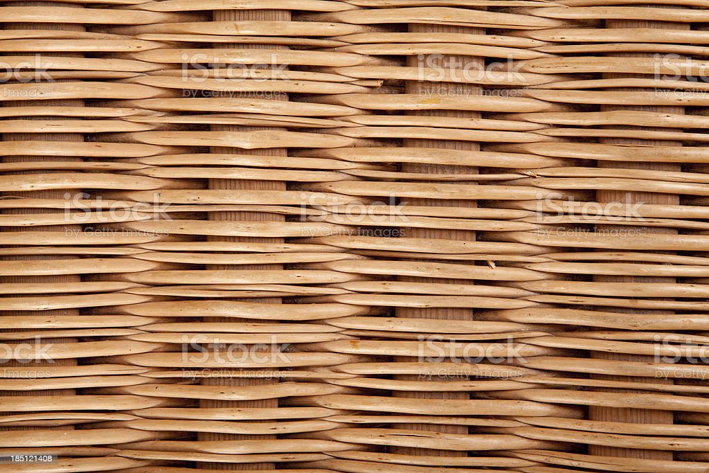 Rattan wicker pattern / texture XXXL stock photo