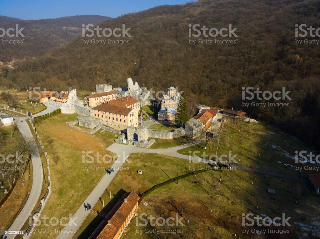 Ravanica monastery stock photo