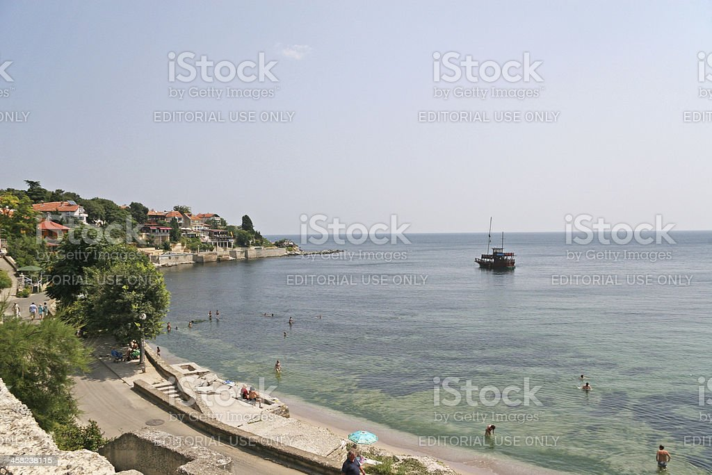 Ravda, Bulgarian coast stock photo